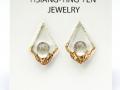 HTY-two-tone-tear-diamond-float-quartz-earring