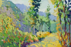 Henry Isaacs, oil painting, landscape