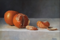 Clementines |oil on panel | $500. | SOLD